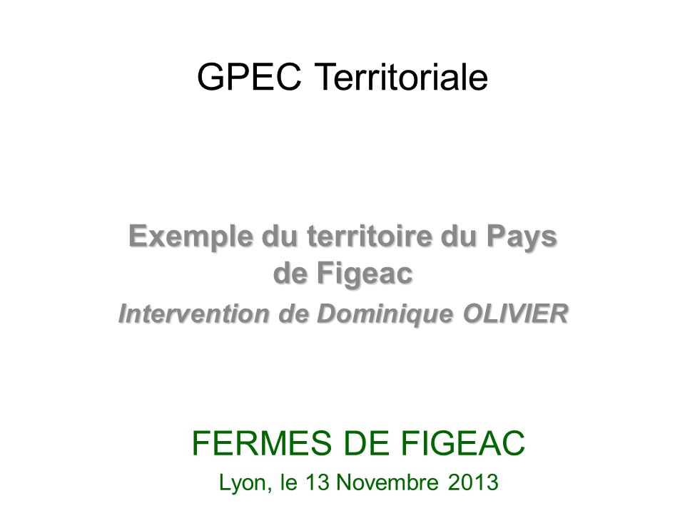 GPEC Territoriale FERMES DE FIGEAC
