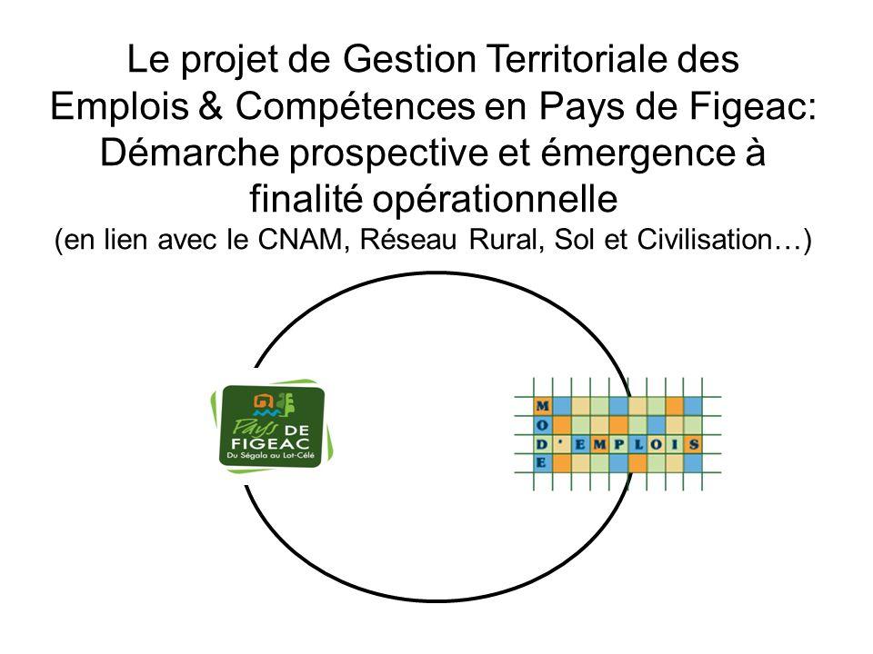 Le projet de Gestion Territoriale des Emplois & Compétences en Pays de Figeac: Démarche prospective et émergence à finalité opérationnelle (en lien avec le CNAM, Réseau Rural, Sol et Civilisation…)
