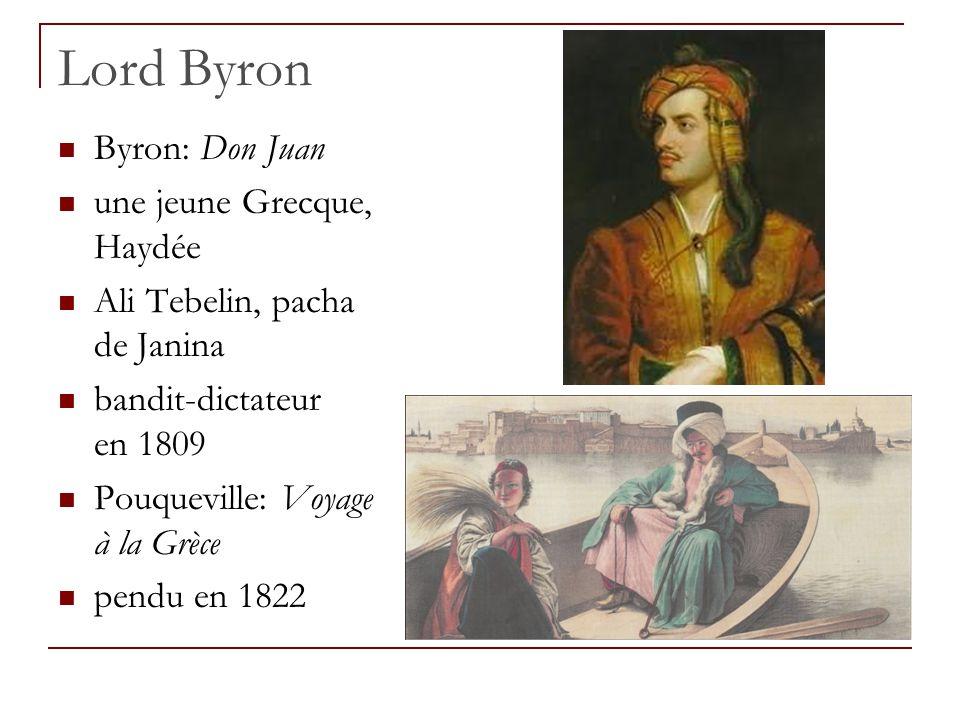 Lord Byron Byron: Don Juan une jeune Grecque, Haydée