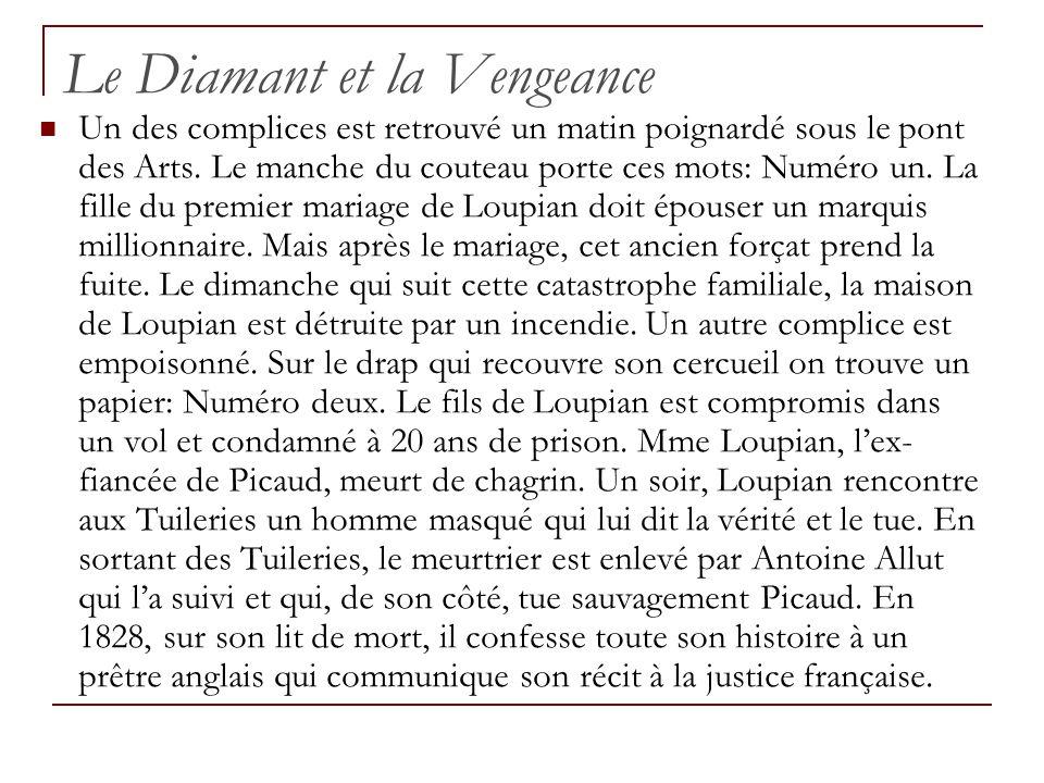 Le Diamant et la Vengeance