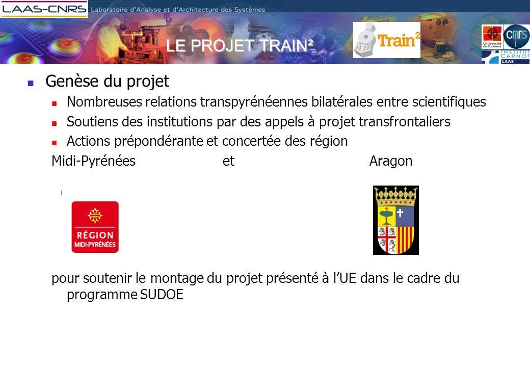 LE PROJET TRAIN² Genèse du projet