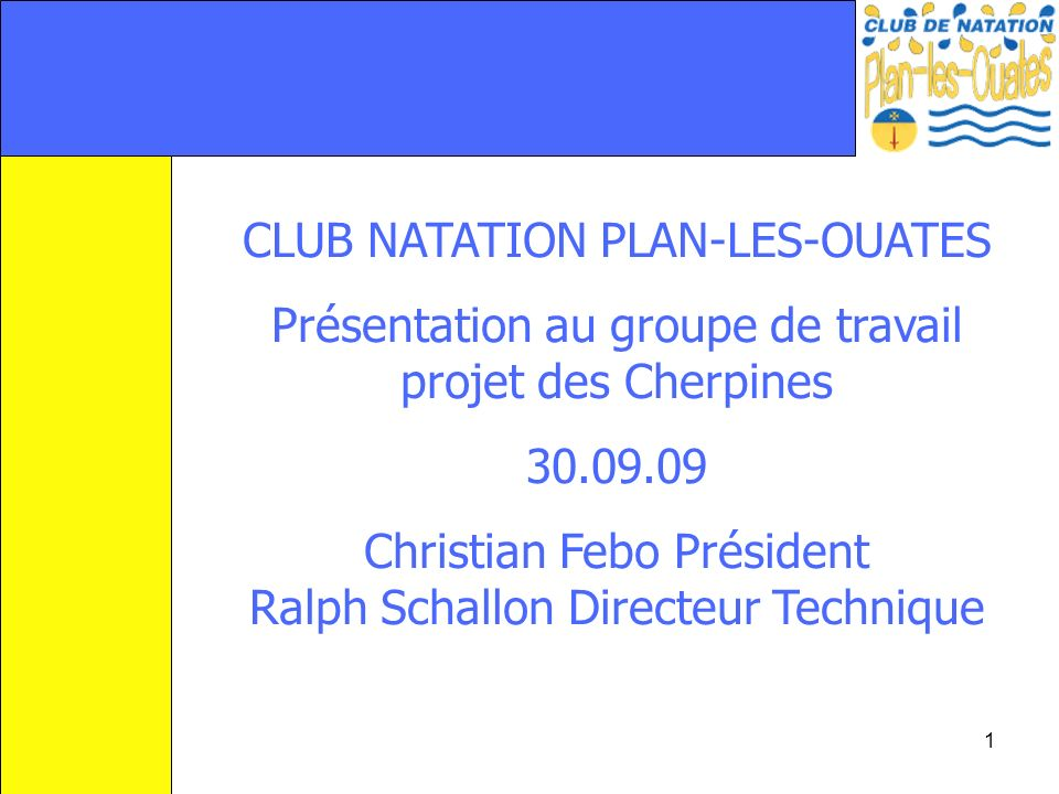 CLUB NATATION PLAN-LES-OUATES