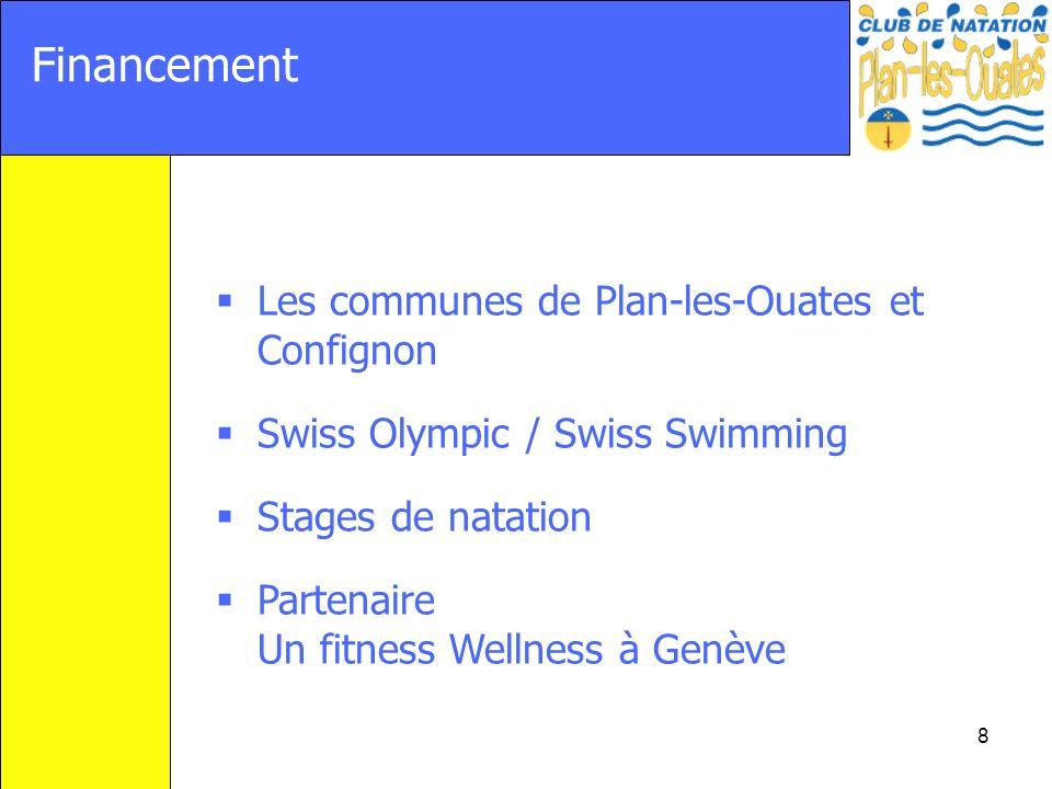 Financement Les communes de Plan-les-Ouates et Confignon