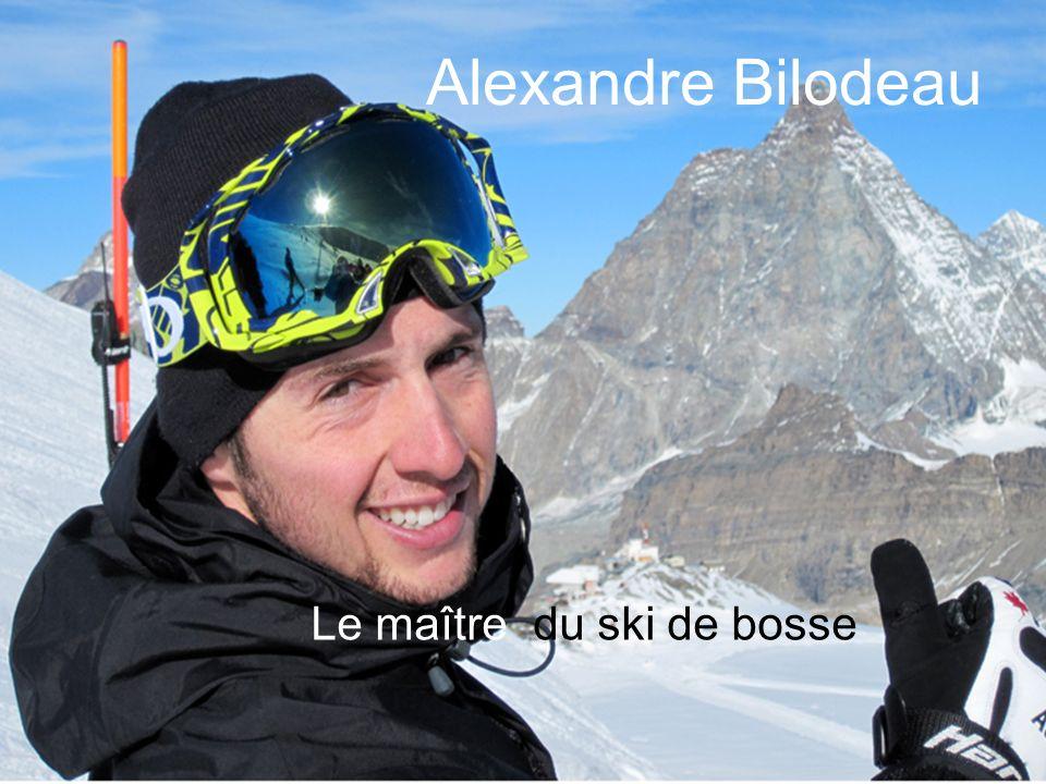 Le maître du ski de bosse