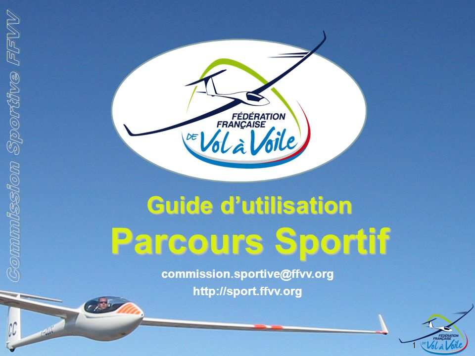 Guide d'utilisation Parcours Sportif