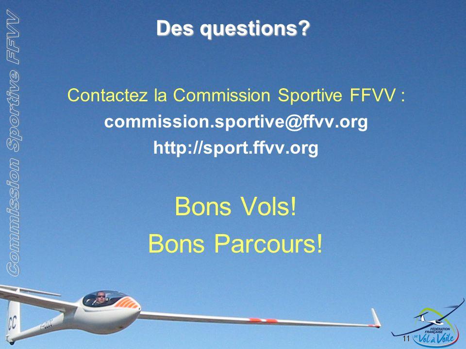 Contactez la Commission Sportive FFVV :