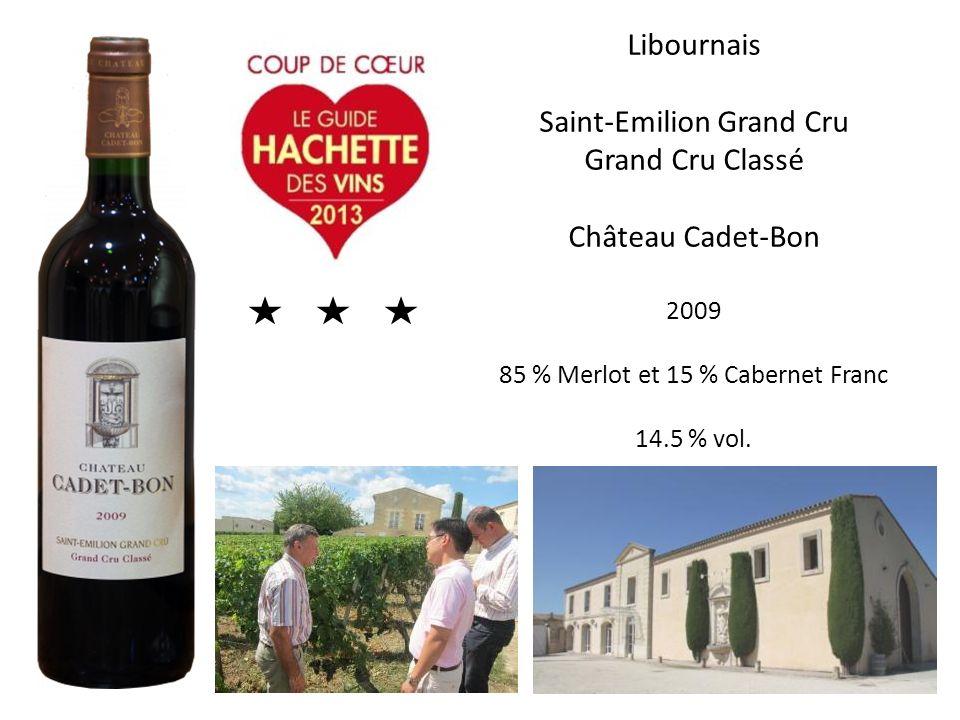 Saint-Emilion Grand Cru Grand Cru Classé Château Cadet-Bon