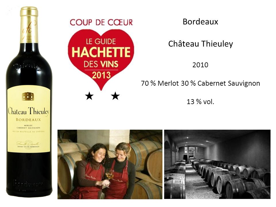 70 % Merlot 30 % Cabernet Sauvignon
