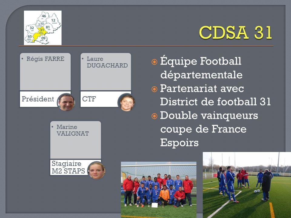CDSA 31 Équipe Football départementale