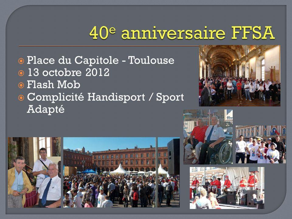 40e anniversaire FFSA Place du Capitole - Toulouse 13 octobre 2012