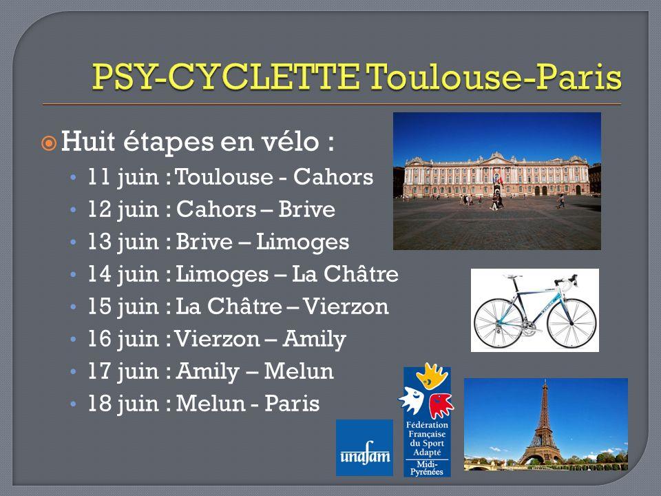PSY-CYCLETTE Toulouse-Paris