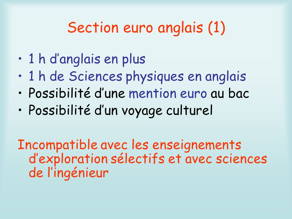 Section euro anglais (1)