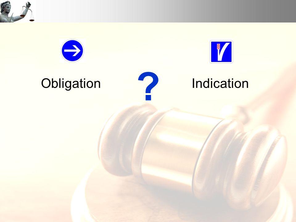Obligation Indication