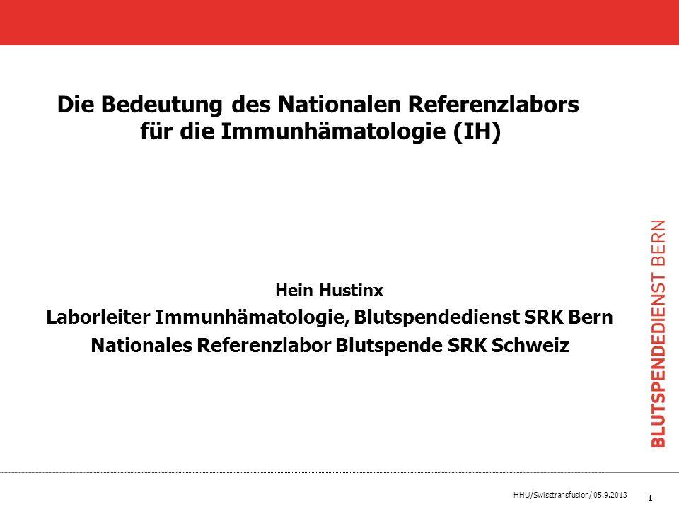 Die Bedeutung des Nationalen Referenzlabors