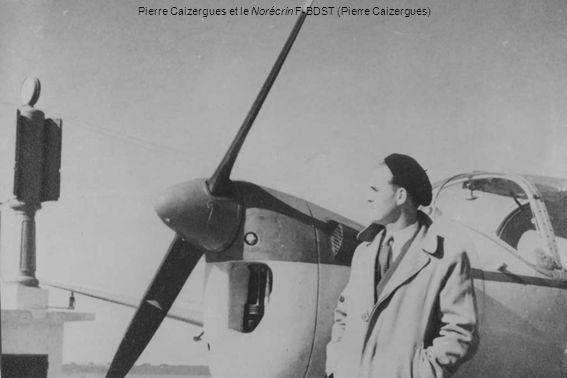 Pierre Caizergues et le Norécrin F-BDST (Pierre Caizergues)