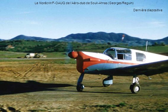 Le Norécrin F-OAUQ de l'Aéro-club de Souk-Ahras (Georges Reguin)