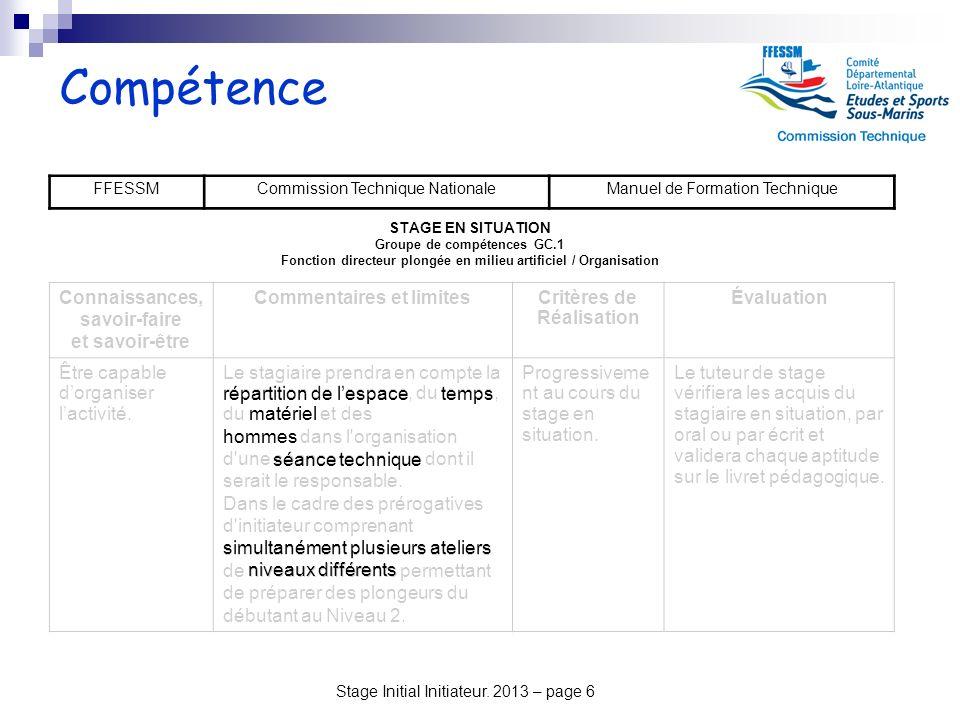 Compétence Connaissances, savoir-faire et savoir-être