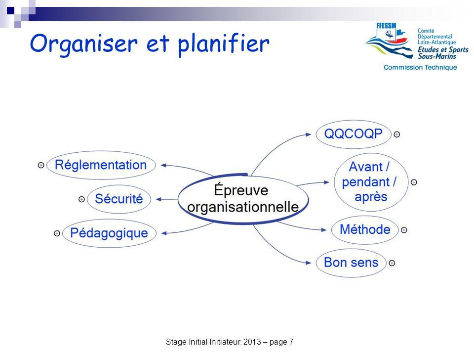 Organiser et planifier
