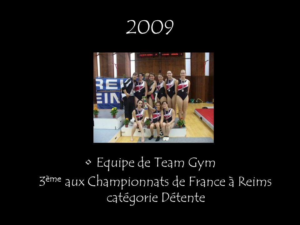 3ème aux Championnats de France à Reims catégorie Détente