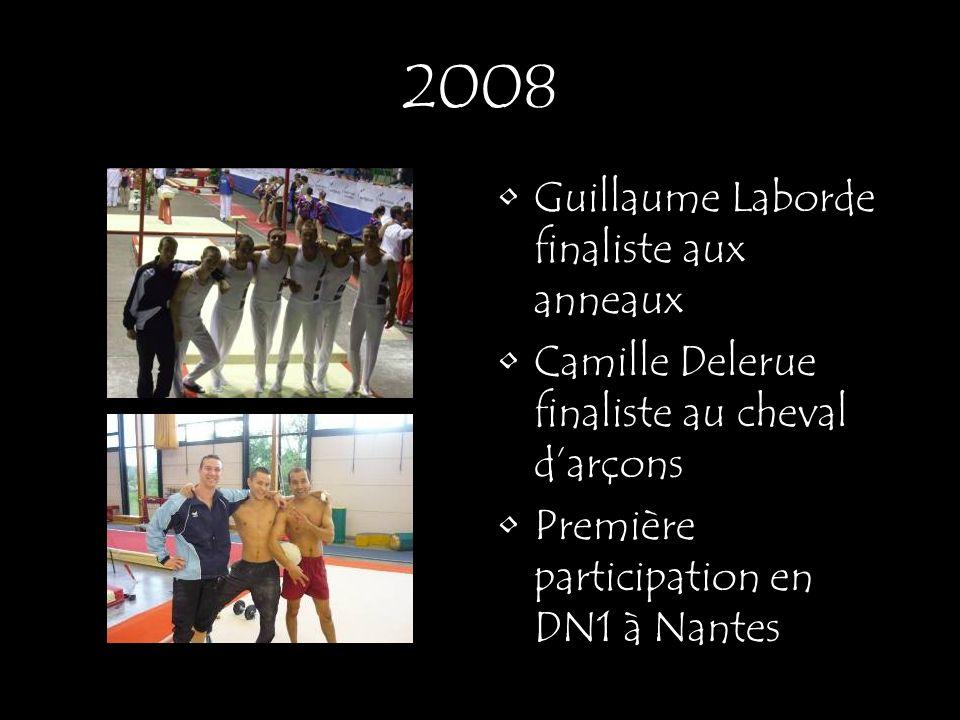 2008 Guillaume Laborde finaliste aux anneaux