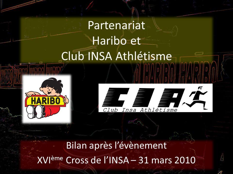 Partenariat Haribo et Club INSA Athlétisme