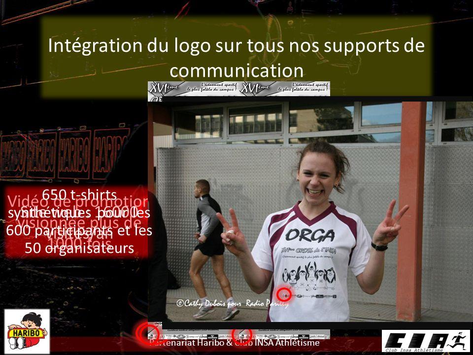 Intégration du logo sur tous nos supports de communication