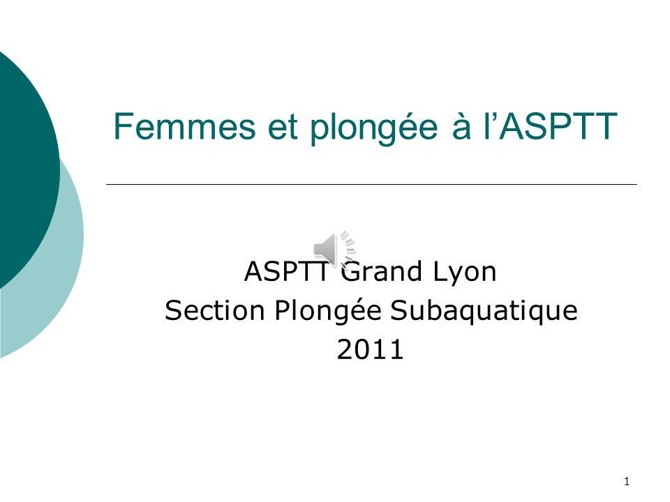 Femmes et plongée à l'ASPTT