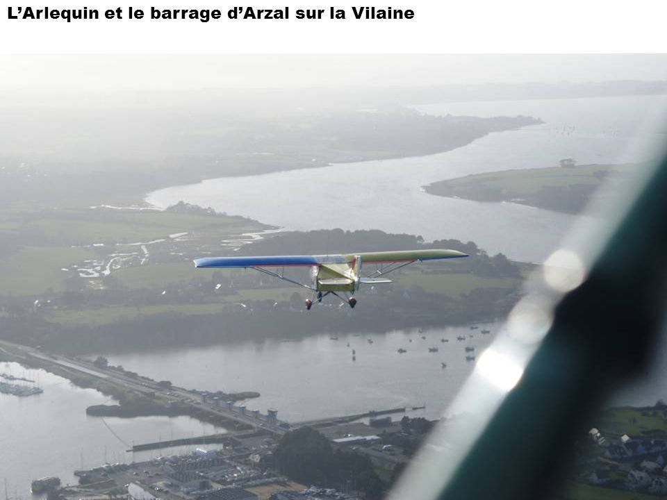 L'Arlequin et le barrage d'Arzal sur la Vilaine