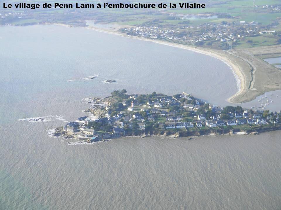 Le village de Penn Lann à l'embouchure de la Vilaine