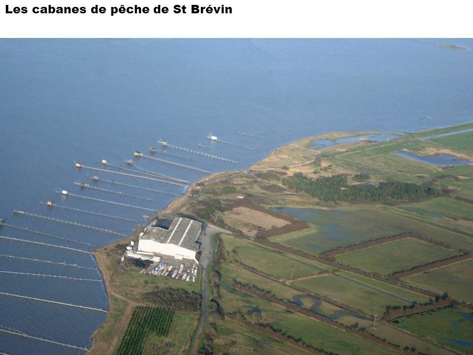 Les cabanes de pêche de St Brévin