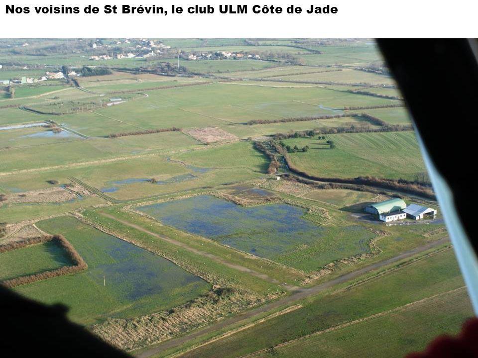 Nos voisins de St Brévin, le club ULM Côte de Jade