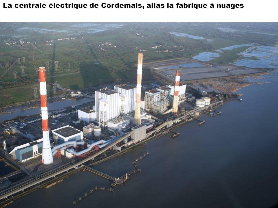 La centrale électrique de Cordemais, alias la fabrique à nuages
