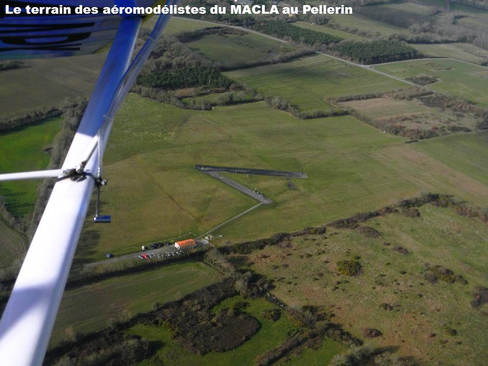Le terrain des aéromodélistes du MACLA au Pellerin