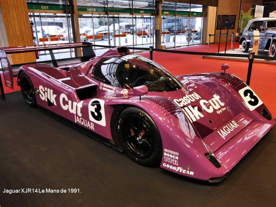 Jaguar XJR14 Le Mans de 1991.