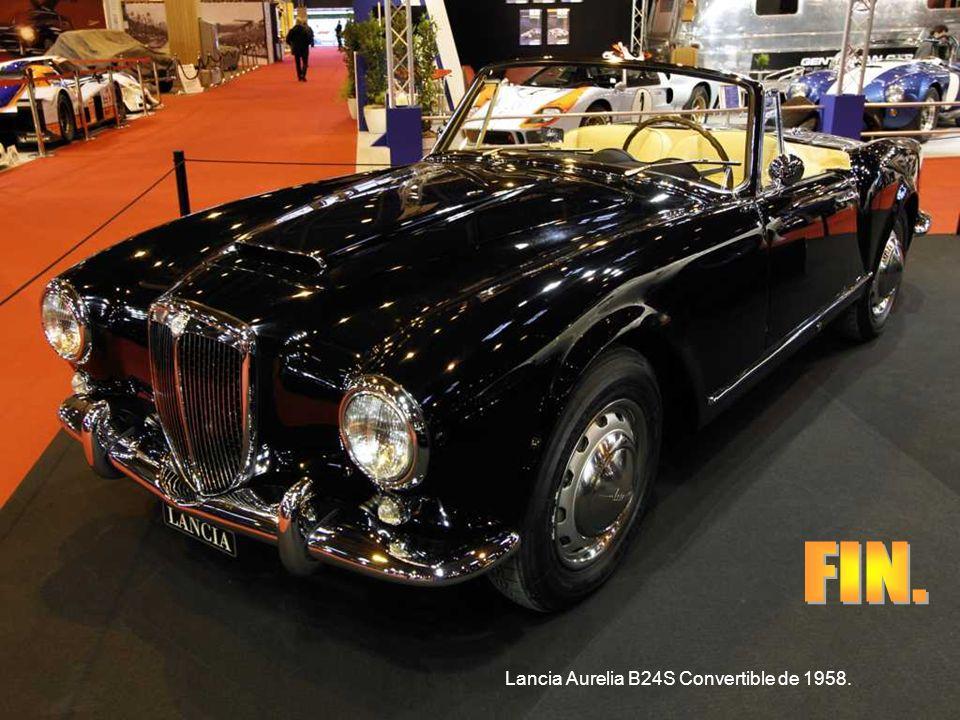 FIN. Lancia Aurelia B24S Convertible de 1958.