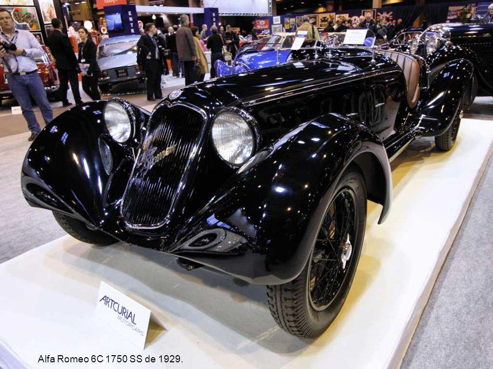 Alfa Romeo 6C 1750 SS de 1929.