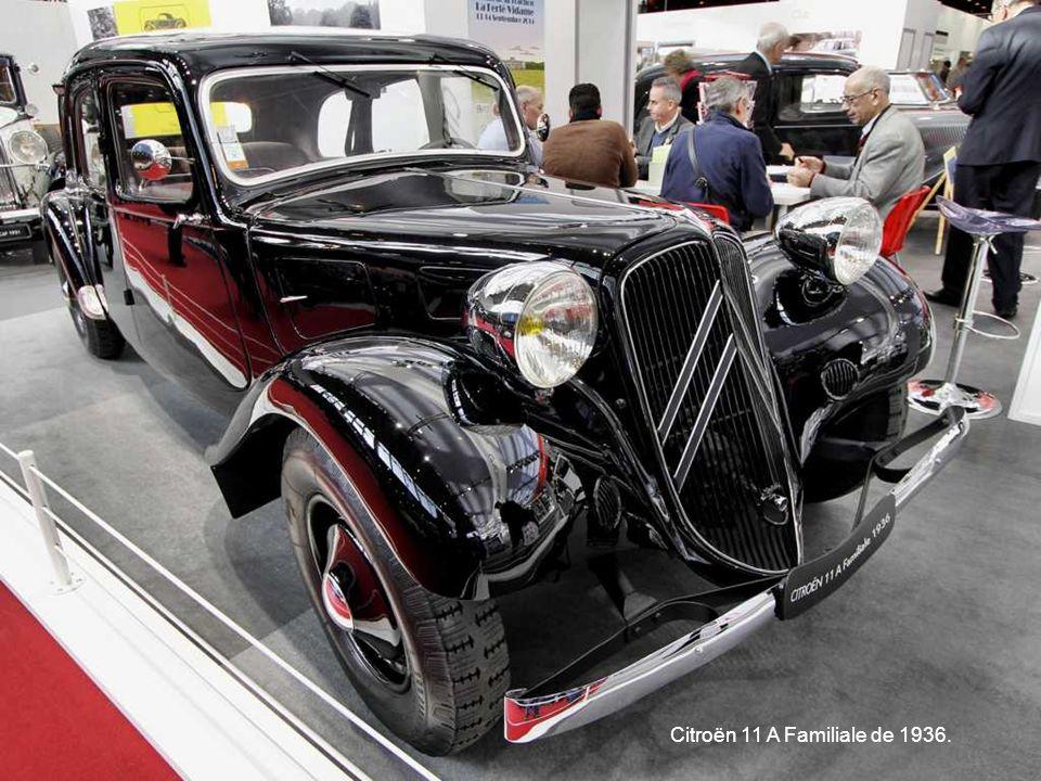 Citroën 11 A Familiale de 1936.