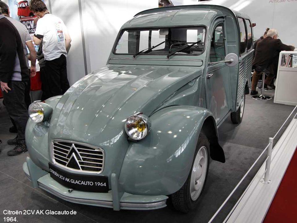 Citroën 2CV AK Glacauto de 1964.