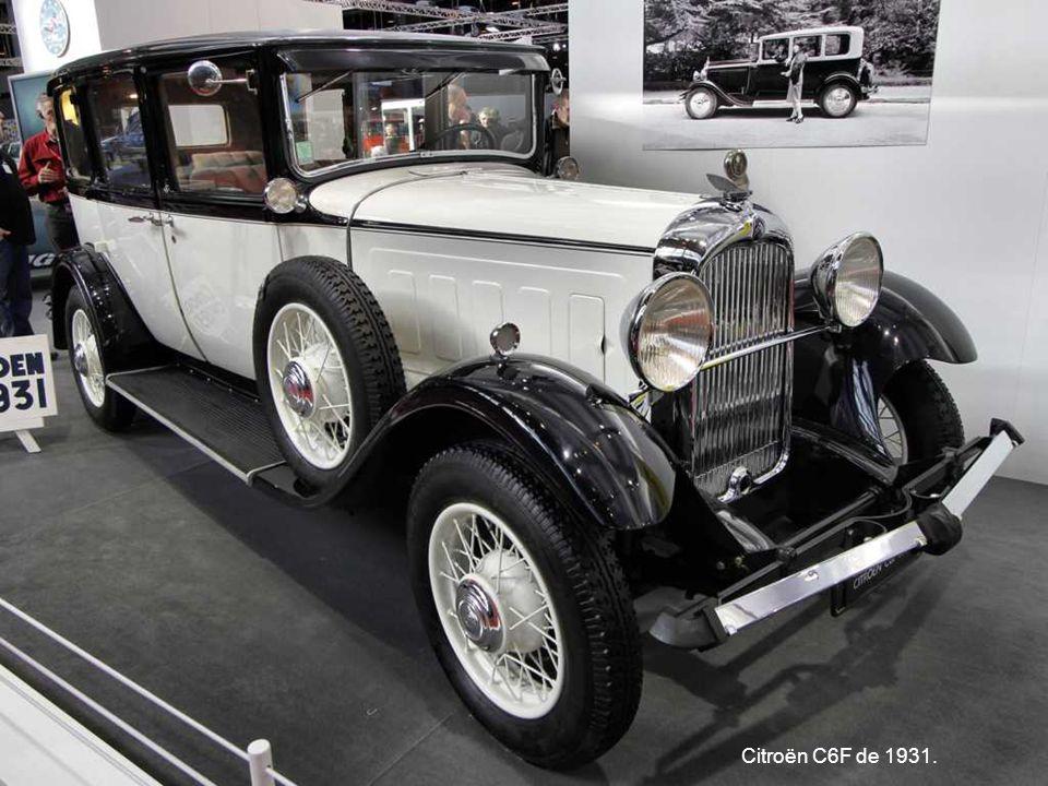 Citroën C6F de 1931.