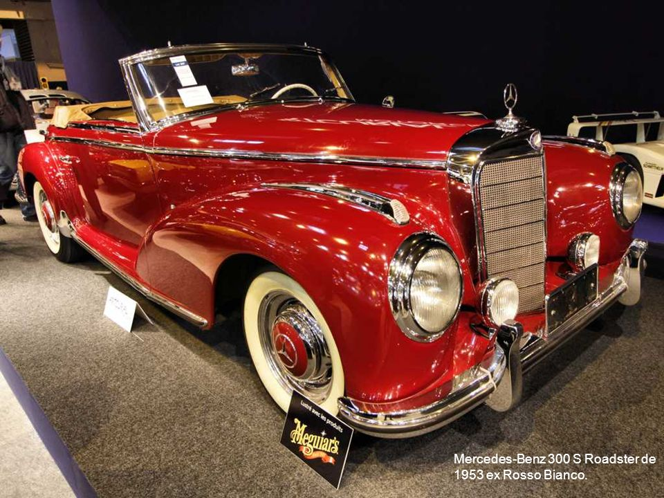 Mercedes-Benz 300 S Roadster de 1953 ex Rosso Bianco.