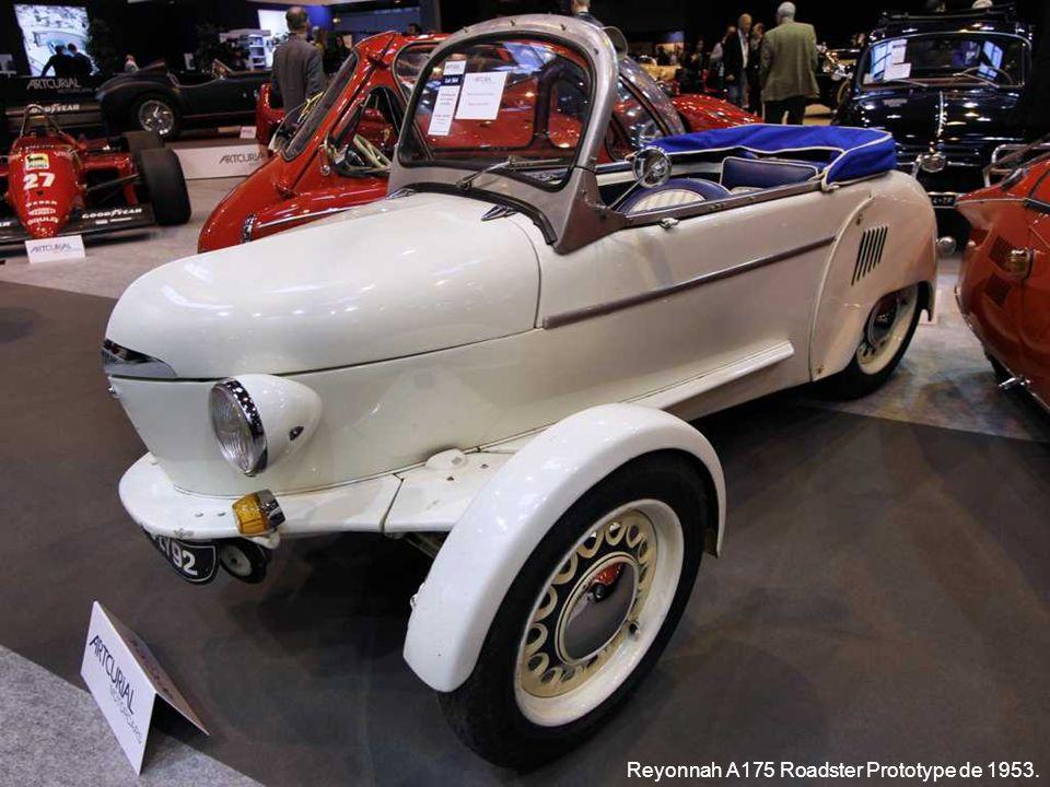 Reyonnah A175 Roadster Prototype de 1953.