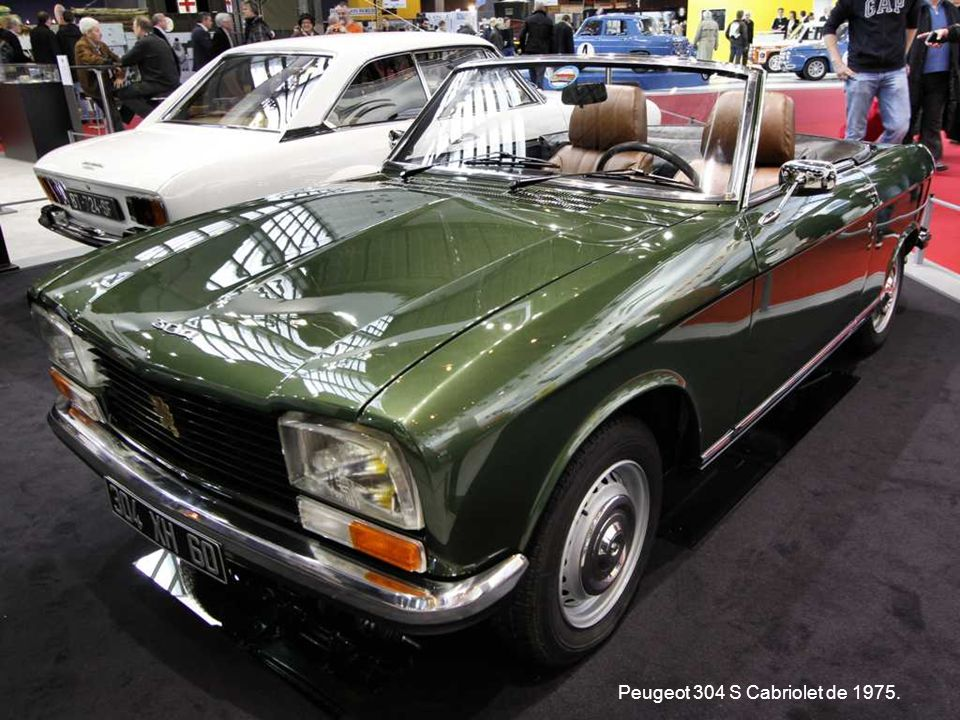 Peugeot 304 S Cabriolet de 1975.