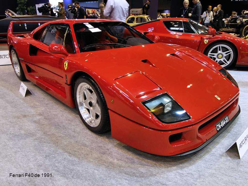 Ferrari F40 de 1991.