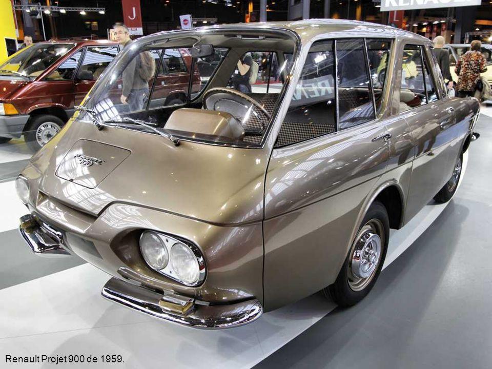 Renault Projet 900 de 1959.