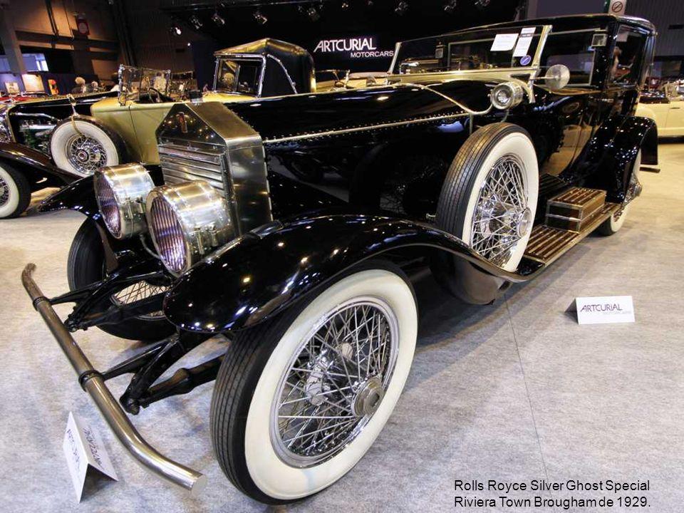 Rolls Royce Silver Ghost Special Riviera Town Brougham de 1929.