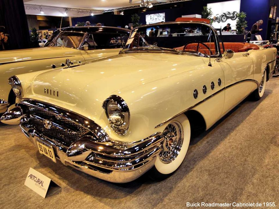Buick Roadmaster Cabriolet de 1955.