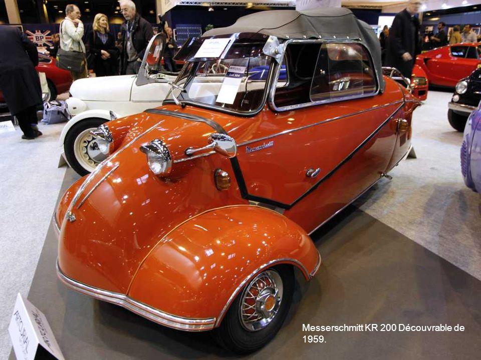 Messerschmitt KR 200 Découvrable de 1959.