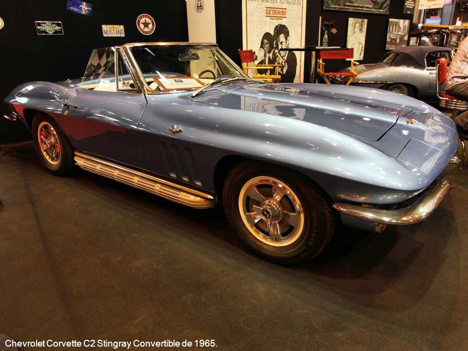 Chevrolet Corvette C2 Stingray Convertible de 1965.