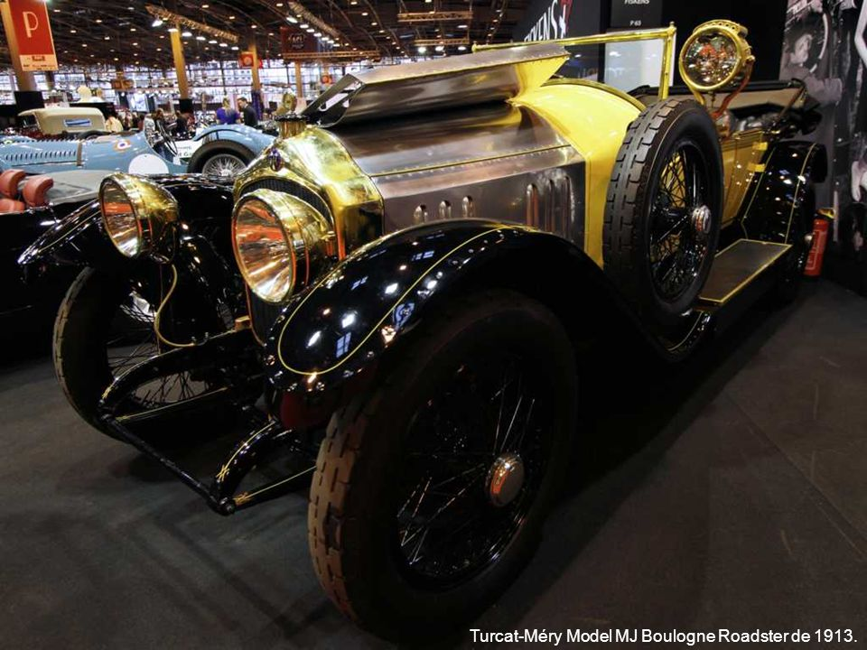 Turcat-Méry Model MJ Boulogne Roadster de 1913.