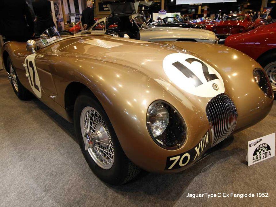 Jaguar Type C Ex Fangio de 1952.